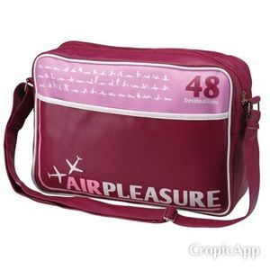 Air Pleasure La Chaise Langue Messenger Bag.